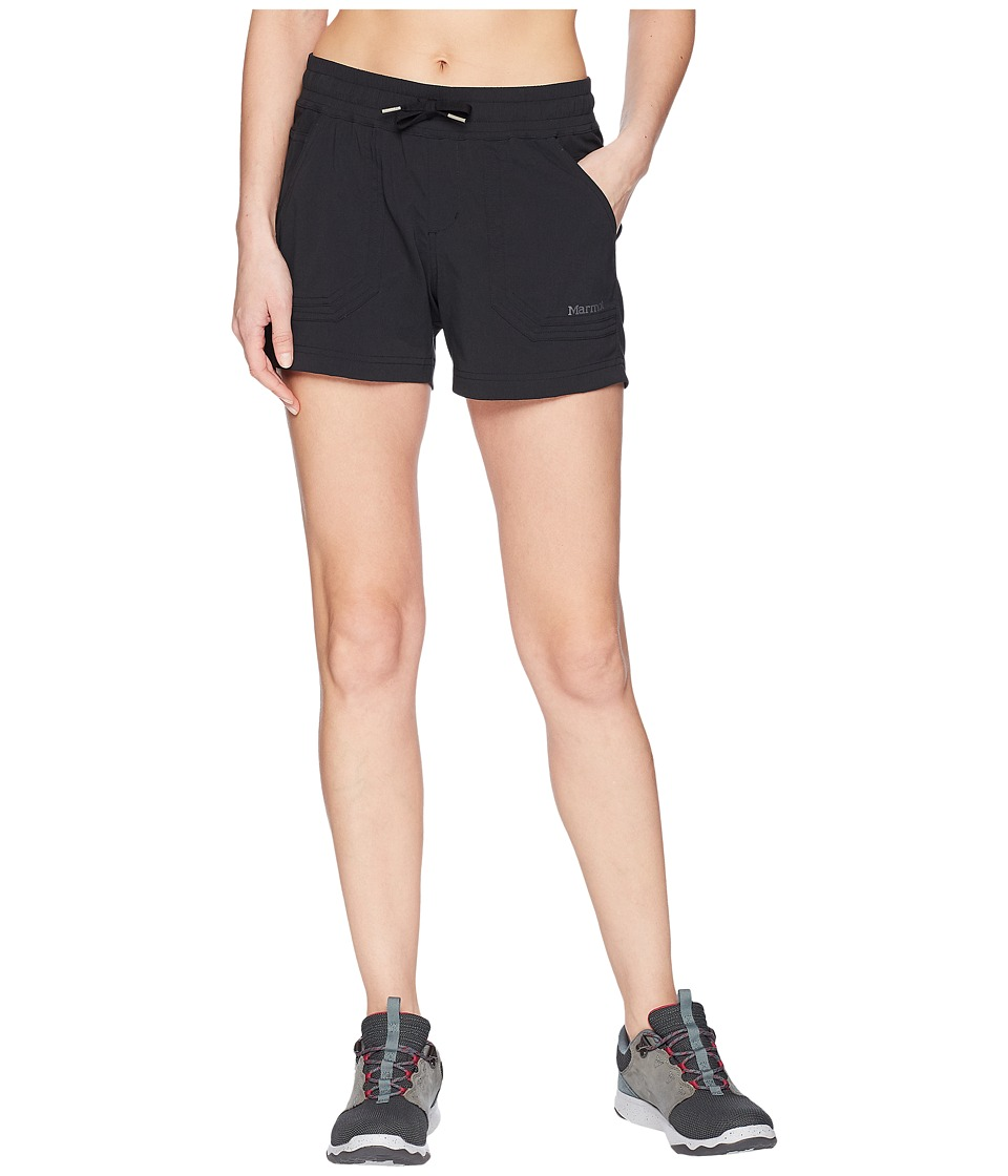 Marmot - Harper Shorts (Black) Womens Shorts