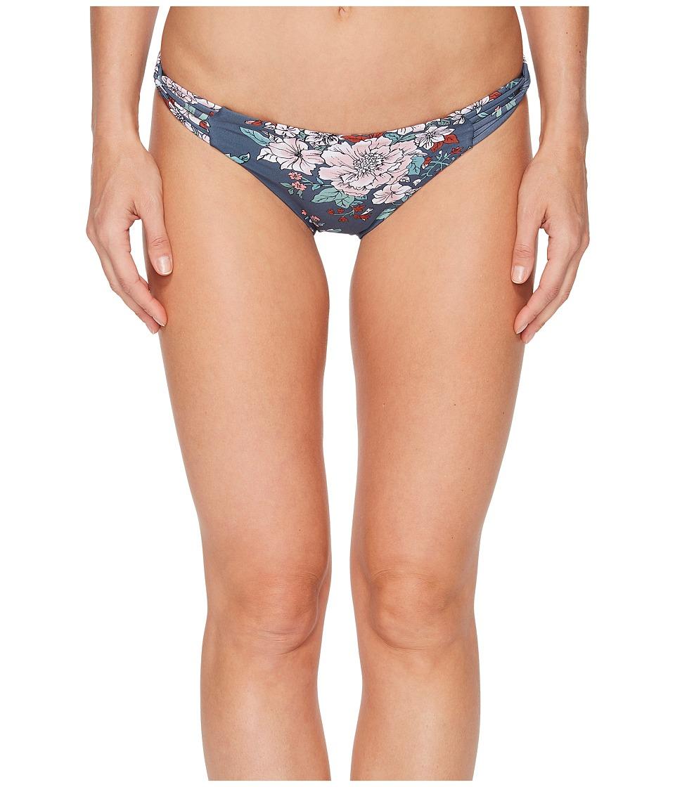 O'Neill James Strappy Bikini Bottom (Deep Teal)