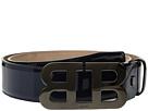 Bally Mirro B Adjustable Patent Leather Belt