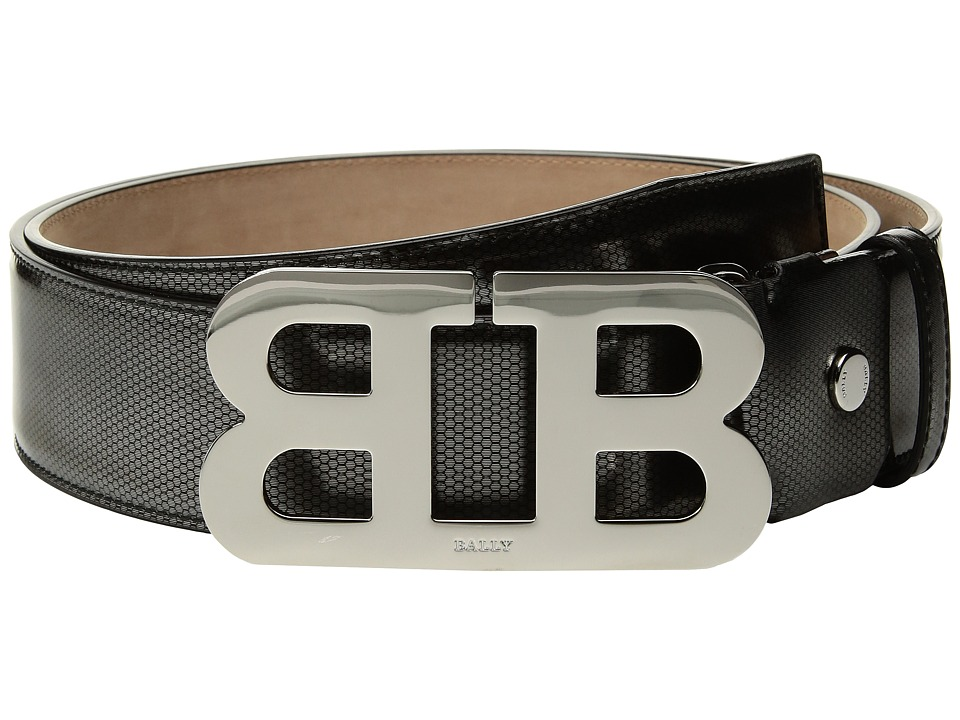 Bally - Mirror B Adjustable Cateye Patent Belt