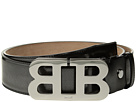 Bally Mirror B Adjustable Cateye Patent Belt