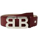 Bally Mirror B Adjustable Carbon Leather Belt