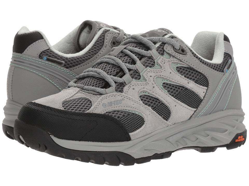 Hi-Tec V-Lite Wildfire Low I Waterproof (Cool Grey/Graphite/Iceberg Green) Women's Hiking Boots