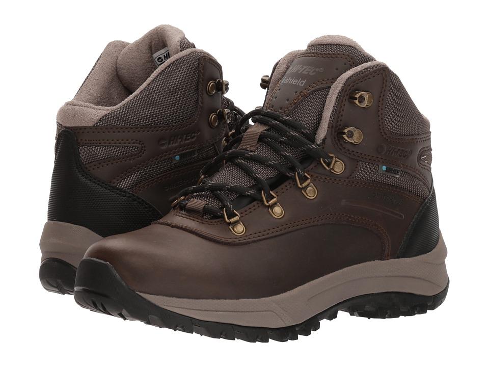 Hi-Tec Altitude VI I Waterproof (Dark Chocolate/Black Smooth) Women's Hiking Boots