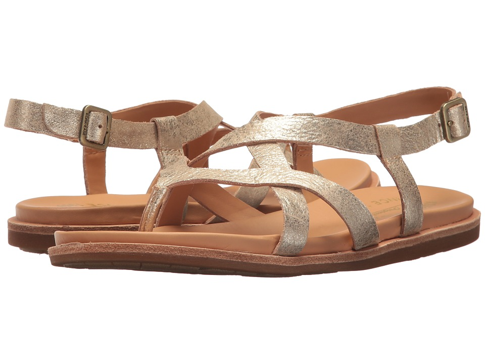 Kork-Ease - Yarbrough (Gold Metallic) Women's Sandals