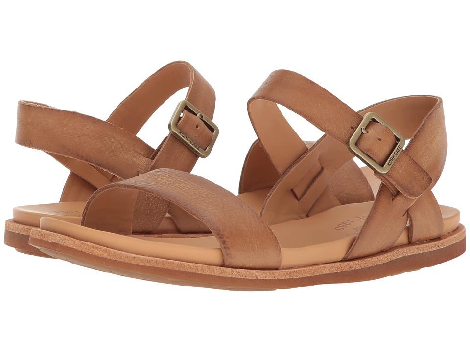 Kork-Ease - Yucca (Light Brown Full Grain Leather) Womens Sandals