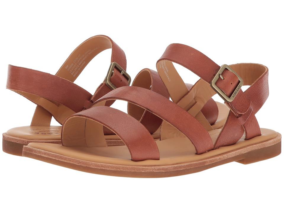 Kork-Ease - Nogales (Brown Full Grain Leather) Womens Sandals