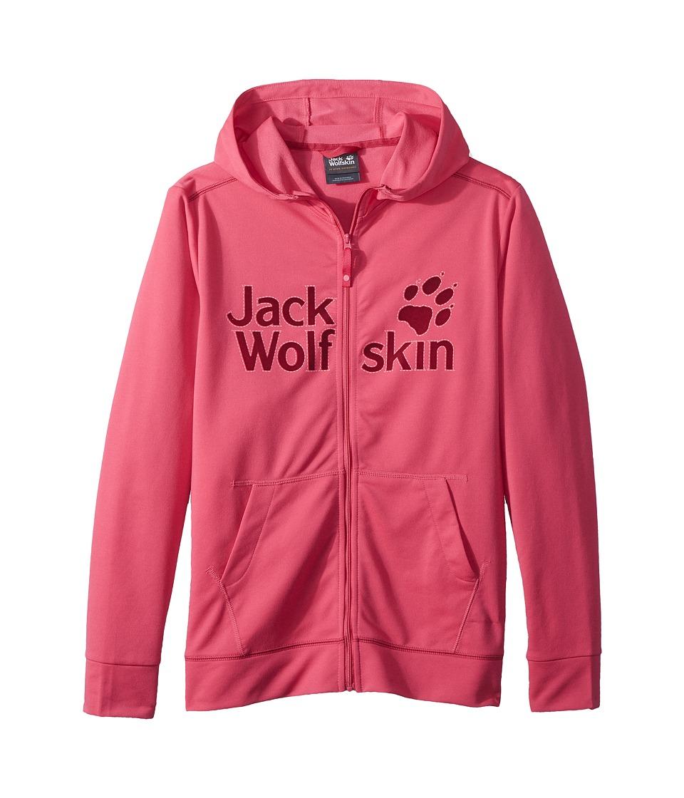 Jack Wolfskin Kids - Redland Jacket (Infant/Toddler/Little Kids/Big Kids) (Tropic Pink) Girls Coat