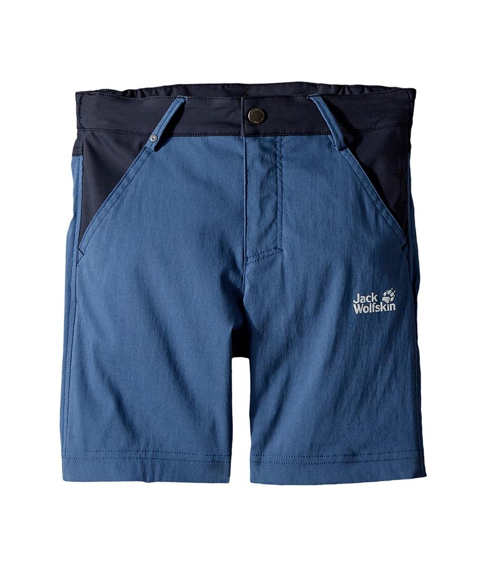 Jack Wolfskin Kids - Dillon Flex Shorts (Infant/Toddler/Little Kids/Big Kids) (Ocean Wave) Boys Shorts