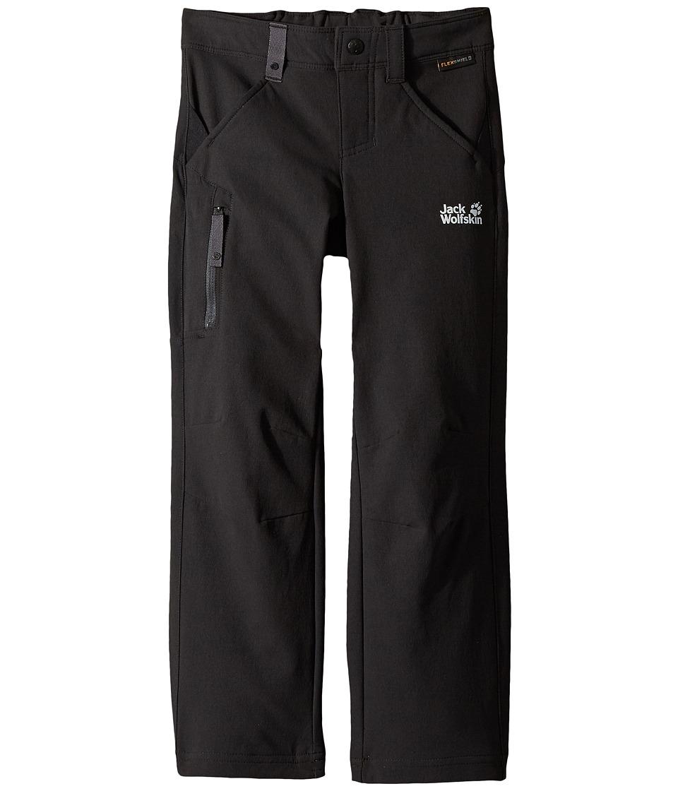 Jack Wolfskin Kids - Activate Pants (Toddler/Little Kids/Big Kids) (Black) Kids Casual Pants