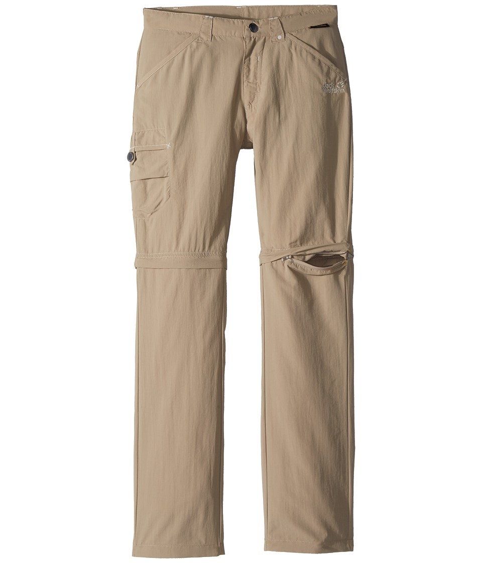 Jack Wolfskin Kids - Safari Zip Off Pants (Little Kid/Big Kid) (Sand Dune) Kids Casual Pants