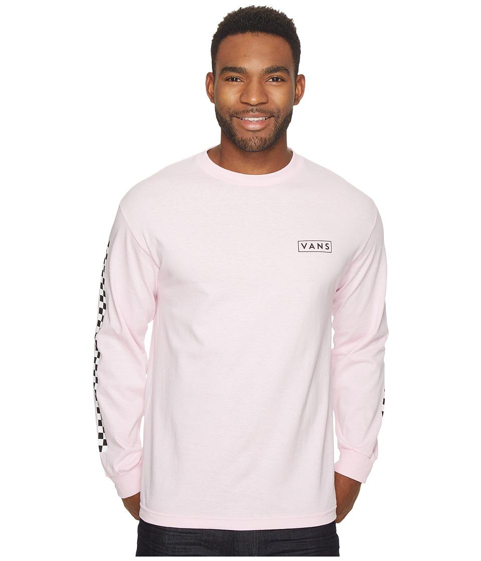 Vans Checkmate Long Sleeve Tee (Pink) Men