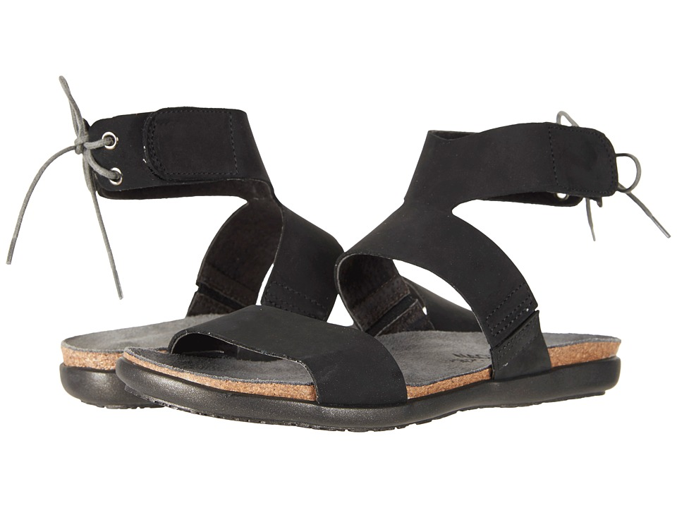 Naot Larissa (Black Velvet Nubuck) Women's Shoes