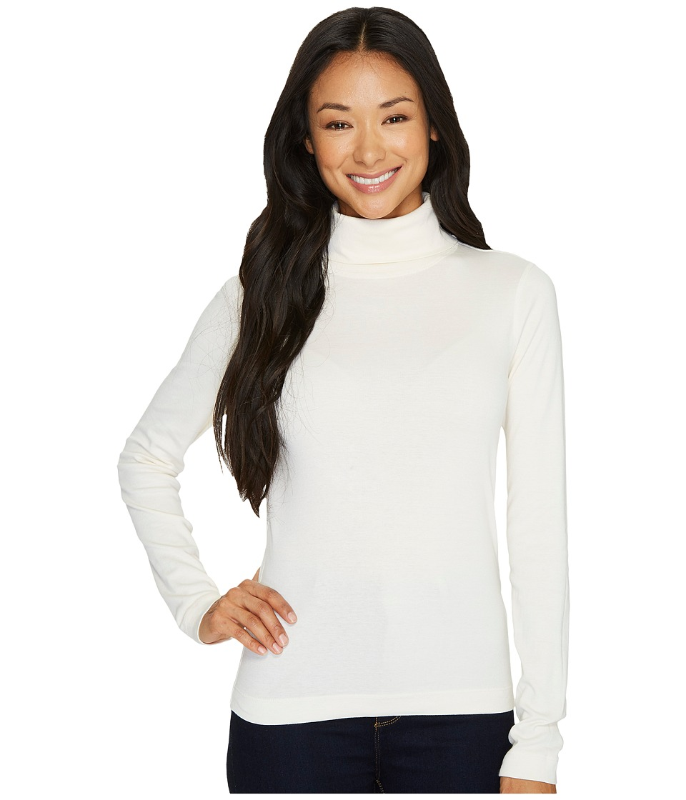 Three Dots - Heritage Rib Long Sleeve Turtleneck