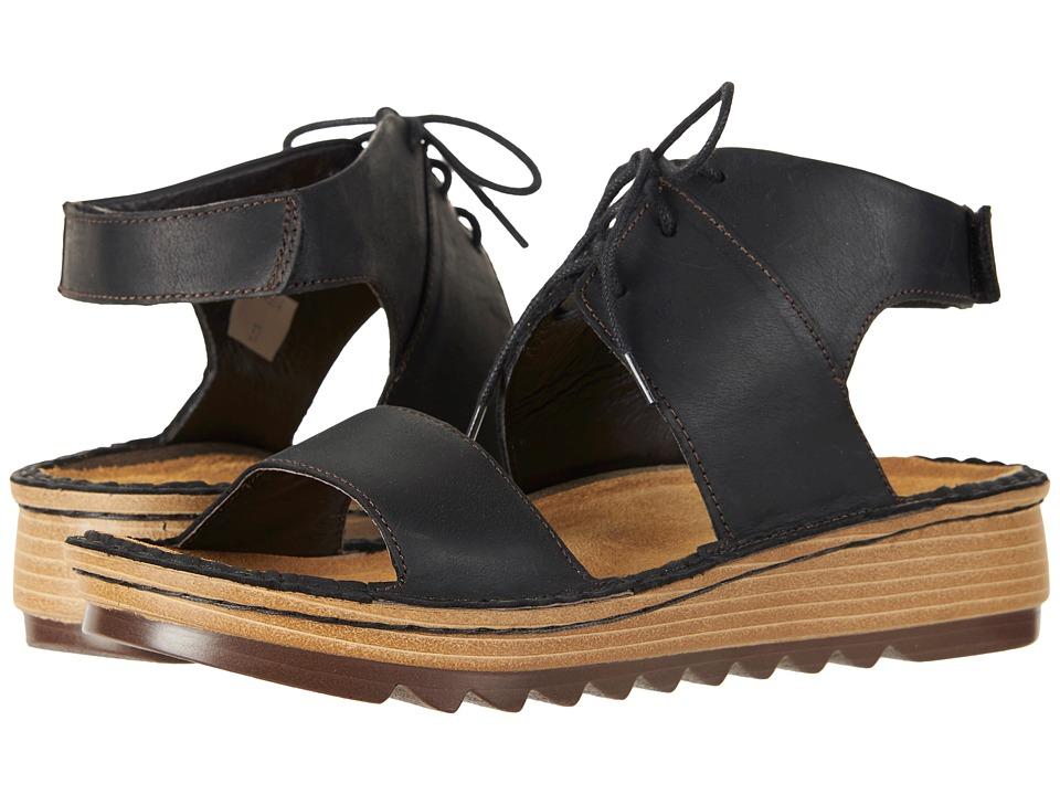 Naot Alpicola (Oily Coal Nubuck) Women's Shoes
