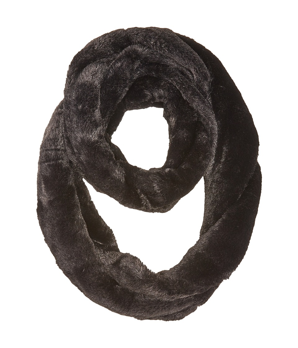 Calvin Klein Faux Fur Infinity Loop (Black) Scarves