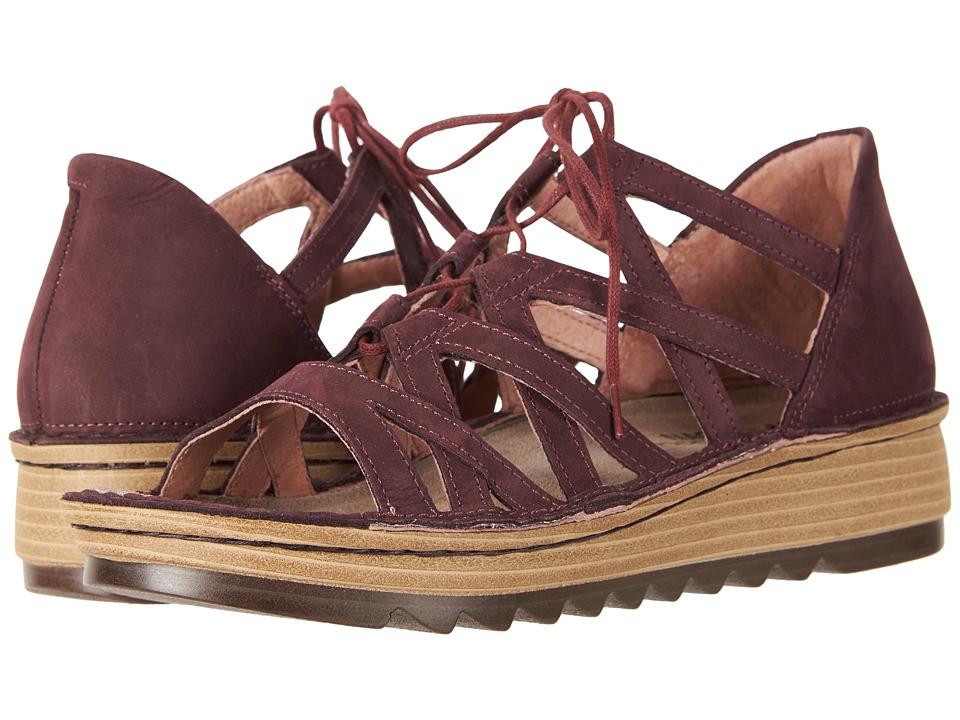Naot Yarrow (Violet Nubuck) Women's Shoes