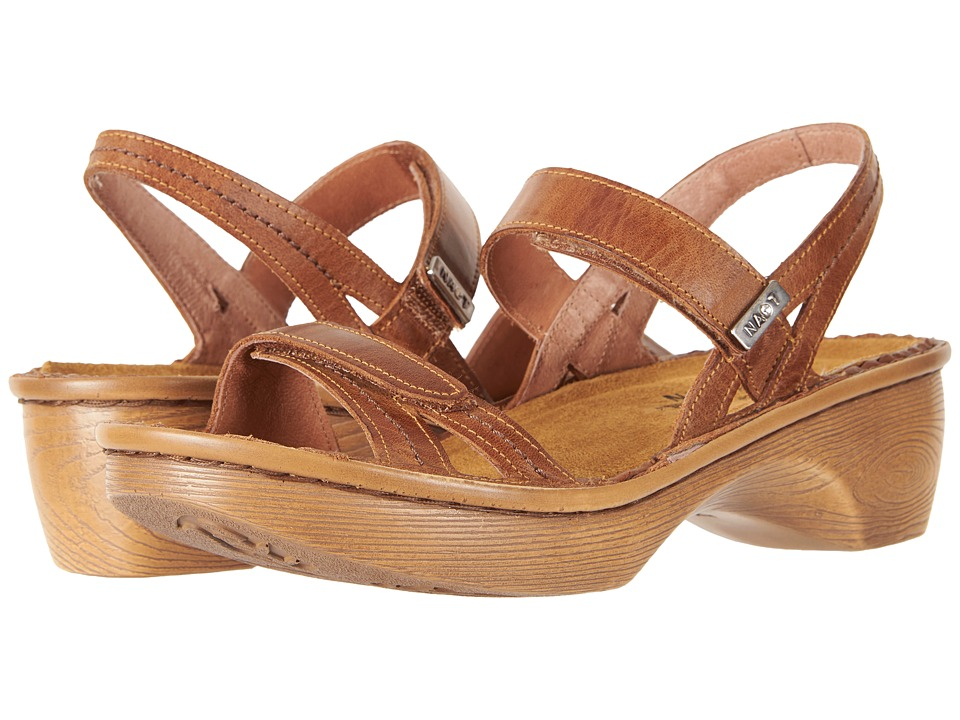 Naot - Brussels (Vintage Camel Leather) Women's Sandals