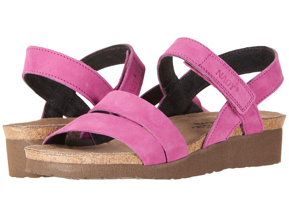 Naot Kayla (Pink Plum Nubuck) Sandals