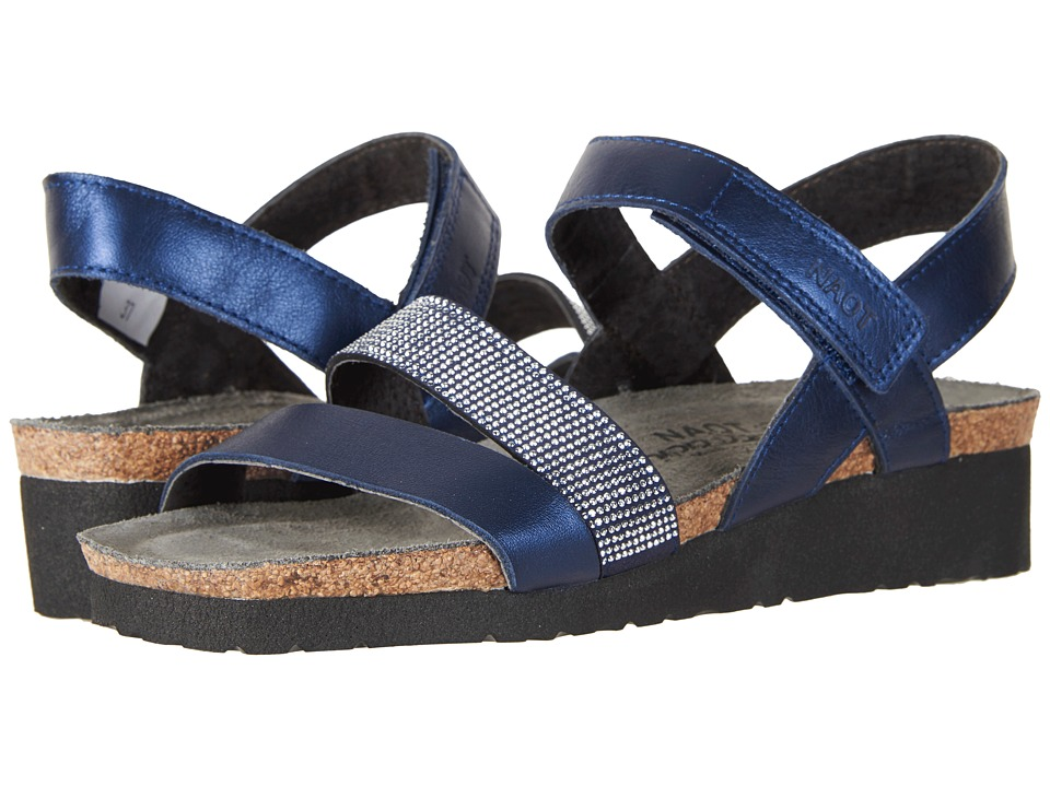 Naot - Krista (Polar Sea Leather/Nickel Rivets) Women's Sandals