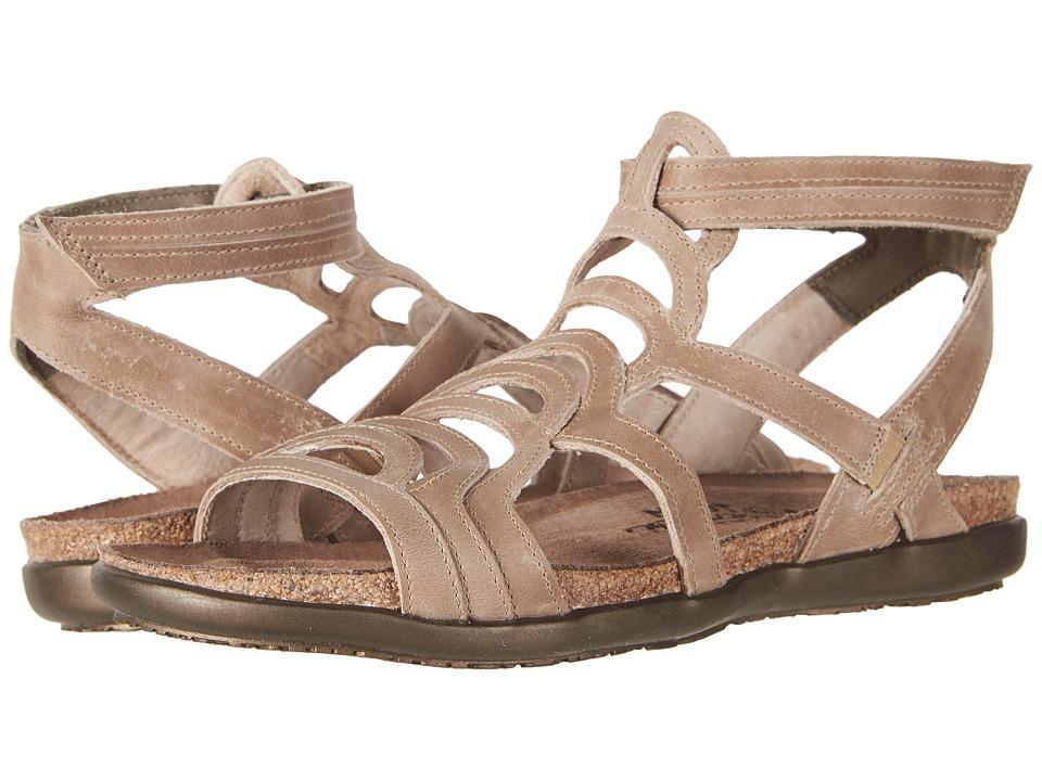 Naot Sara (Khaki Beige Leather) Women's Shoes