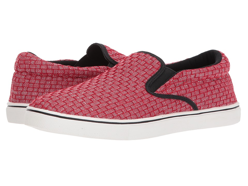 bernie mev. Verona Shimmer (Red Shimmer) Slip-On Shoes