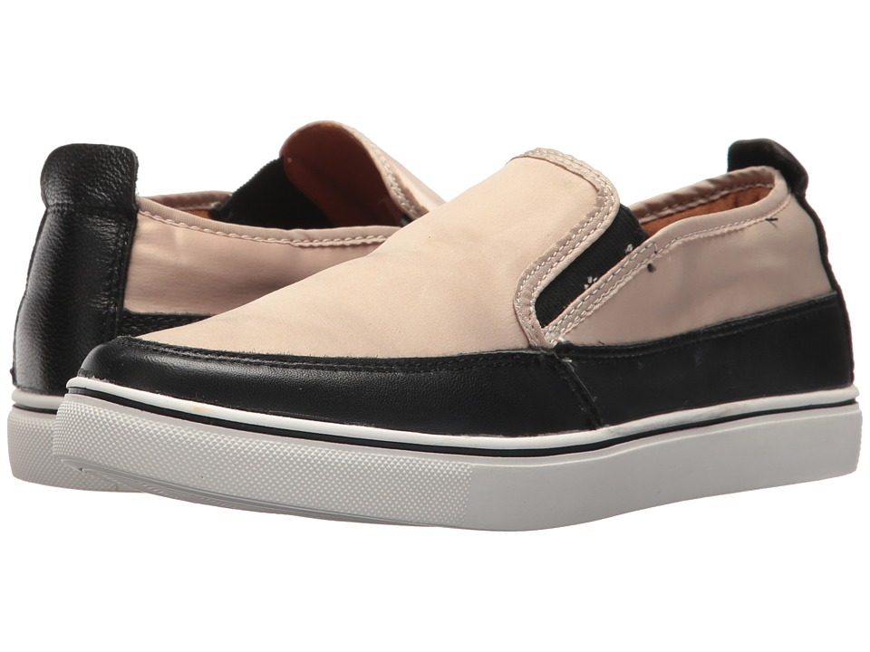 bernie mev. Lara (Nude Satin) Slip-On Shoes