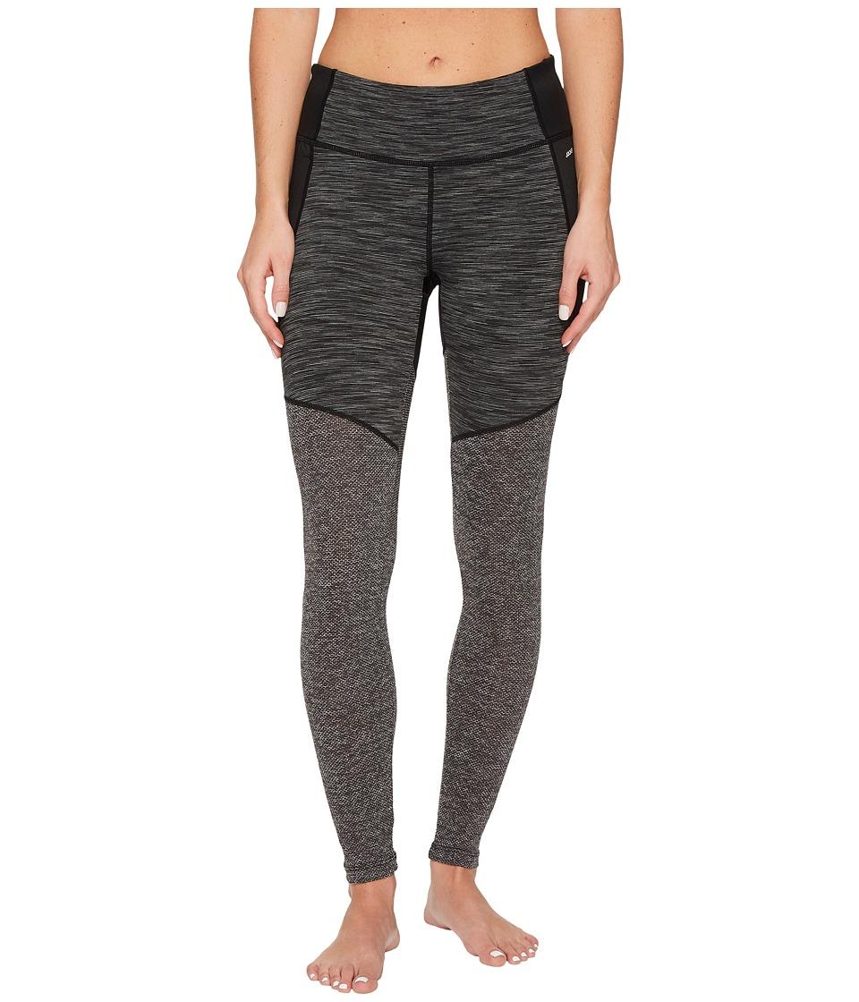 Jockey Active Shades of Grey Leggings (Deep Black) Women