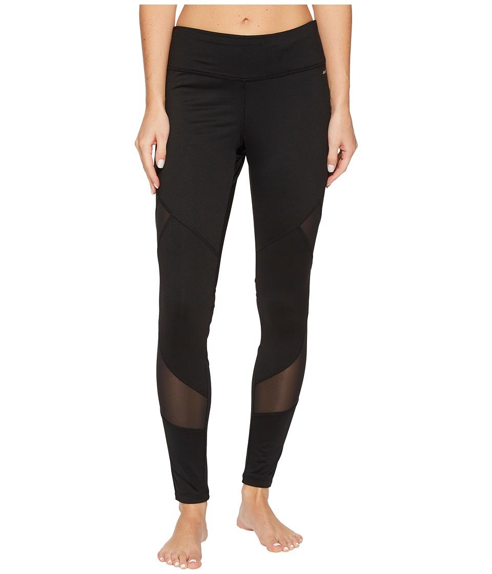 Jockey Active Momentum Leggings (Deep Black) Women
