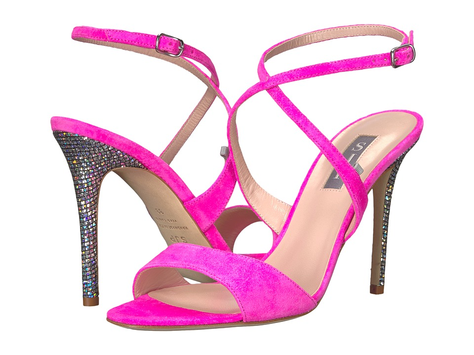 SJP by Sarah Jessica Parker Elektra (Candy Pink Suede) Women