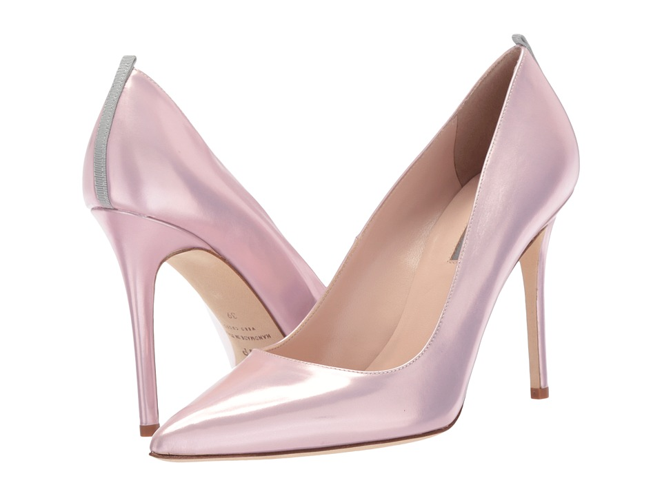 SJP by Sarah Jessica Parker - Fawn 100mm (Pink Pearl Mirror) Womens Shoes