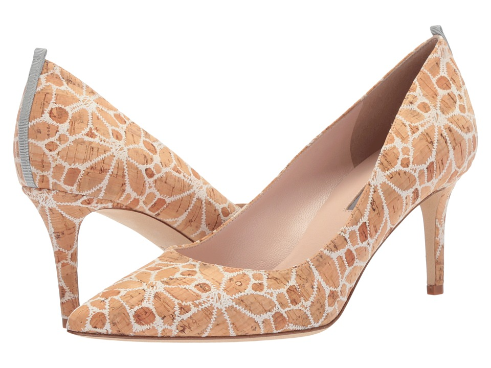 SJP by Sarah Jessica Parker - Fawn 70mm (Flower Print Cork) Womens Slip-on Dress Shoes