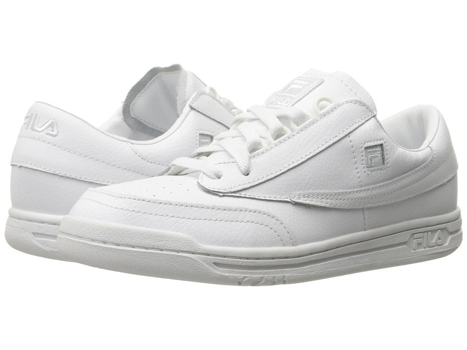 Fila - Original Tennis (White/White/White) Mens Tennis Shoes