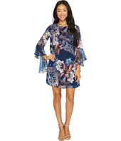 CeCe - Ashley Bell Sleeve Blooms Dress