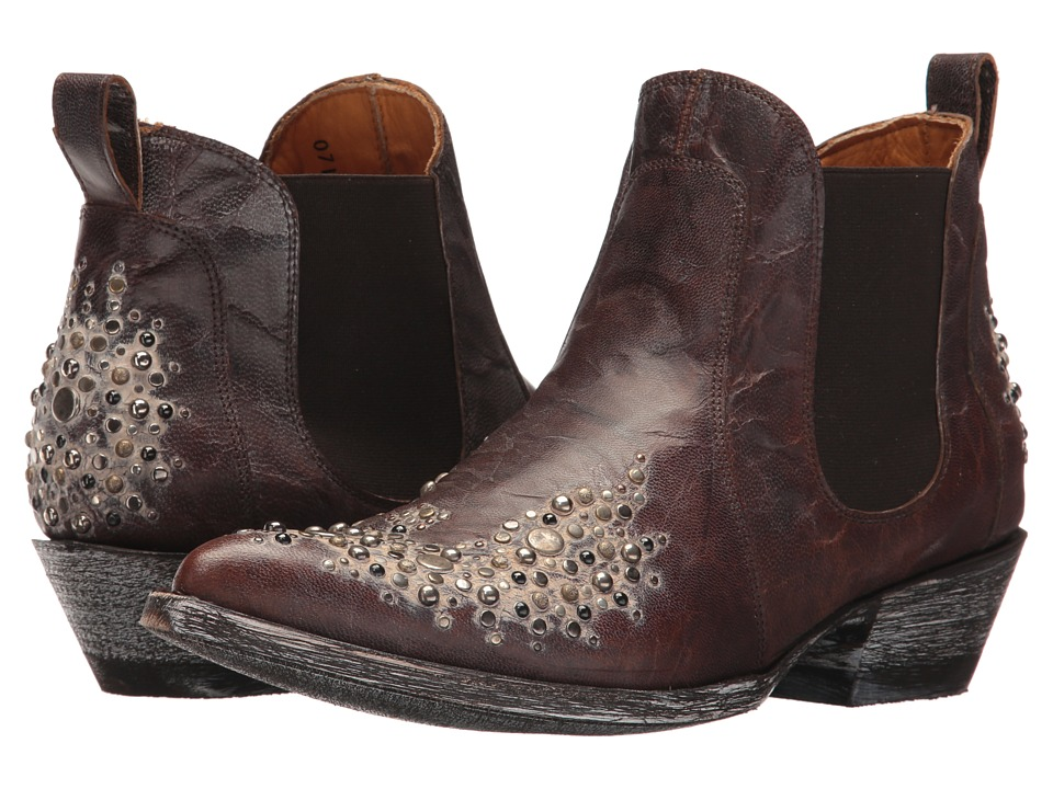 Old Gringo Skyler Dance (Brass/Chocolate) Cowboy Boots