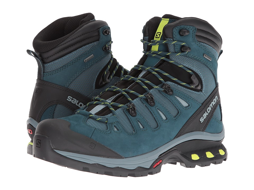 Salomon Quest 4D 3 GTX(r) (Mallard Blue/Reflecting Pond/A...