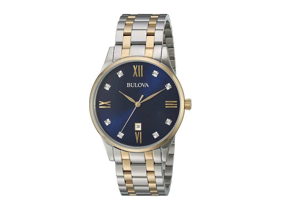 BULOVA Diamonds - 98D130 (Two-Tone) Watches
