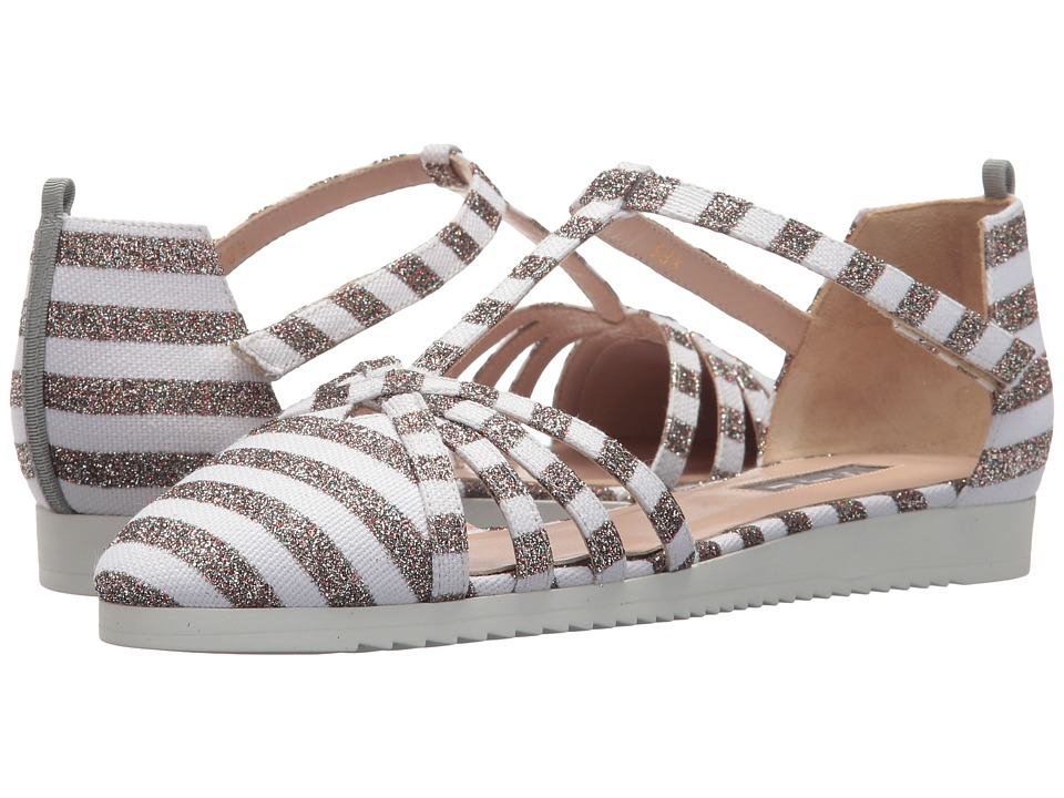 SJP by Sarah Jessica Parker Meteor (Rose Gold/White Stripe) Women