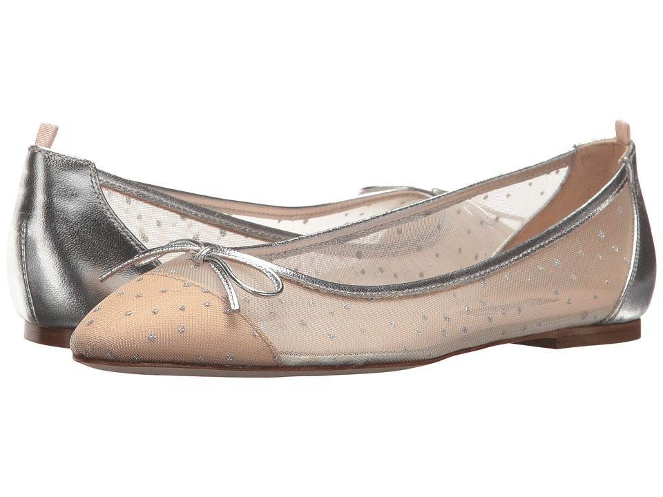 SJP by Sarah Jessica Parker - First Dance (Ivey Silver Mesh) Womens Shoes