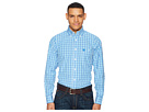 Wrangler George Strait Long Sleeve Plaid