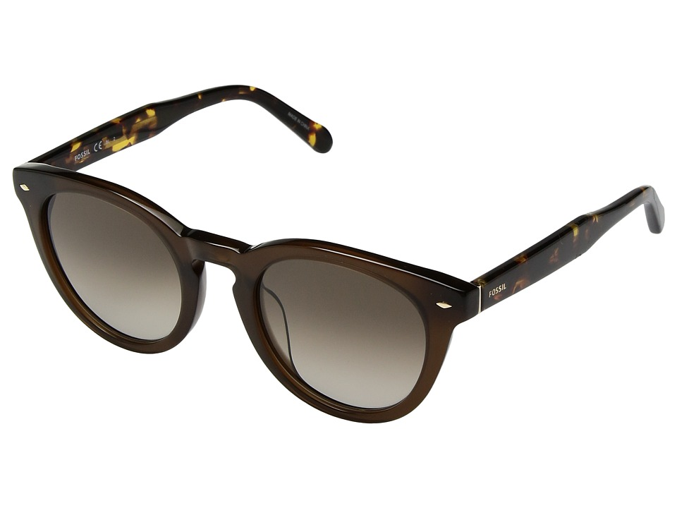 Fossil - Fossil 2060/S (Brown/Brown Gradient) Fashion Sunglasses