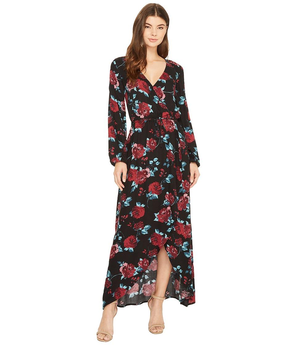 Splendid Wrap Dress (Patch Black) Women