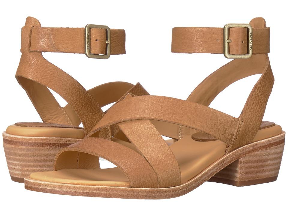 Kork-Ease - Marianna (Light Brown Full Grain Leather) Womens 1-2 inch heel Shoes