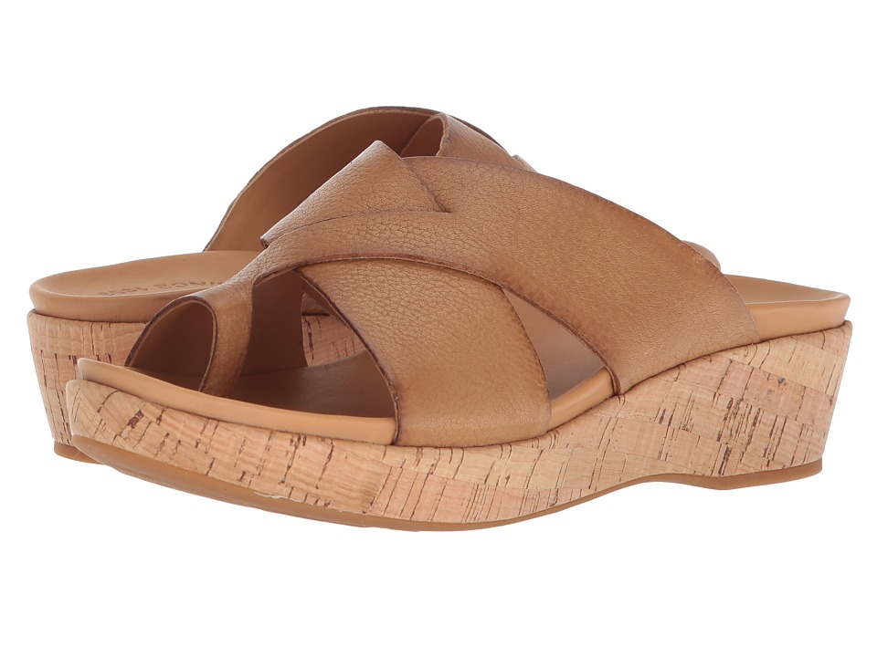 Kork-Ease Baja (Light Brown Full Grain Leather) Sandals