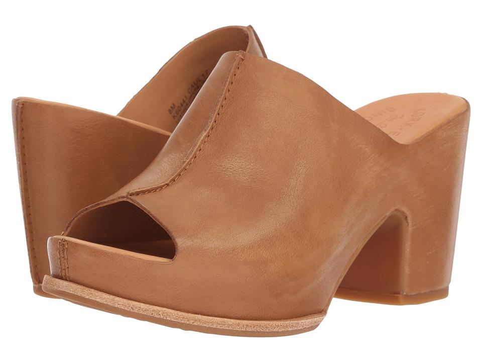 Vintage Sandals | Wedges, Espadrilles – 30s, 40s, 50s, 60s, 70s Kork-Ease Santa Ana Light Brown Full Grain Leather High Heels $165.00 AT vintagedancer.com