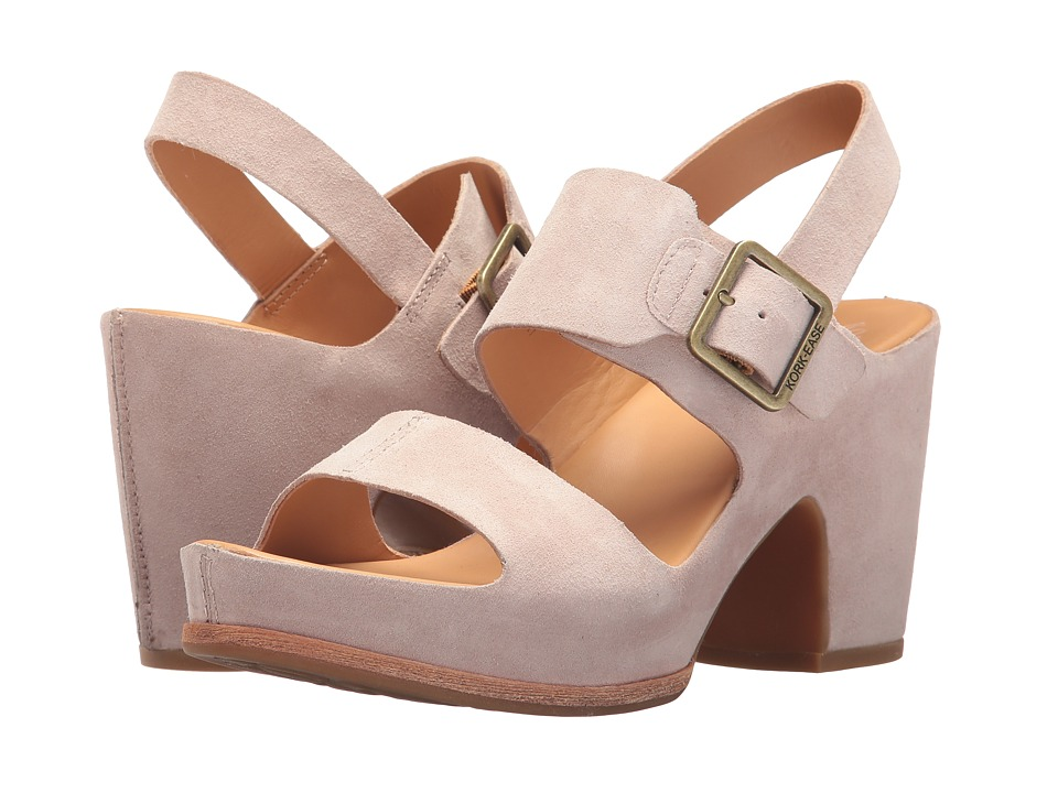 KORK-EASE San Carlos (Light Pink Suede) High Heels