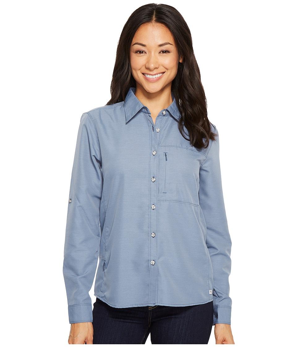 Mountain Hardwear Canyontm Long Sleeve Shirt (Zinc) Women