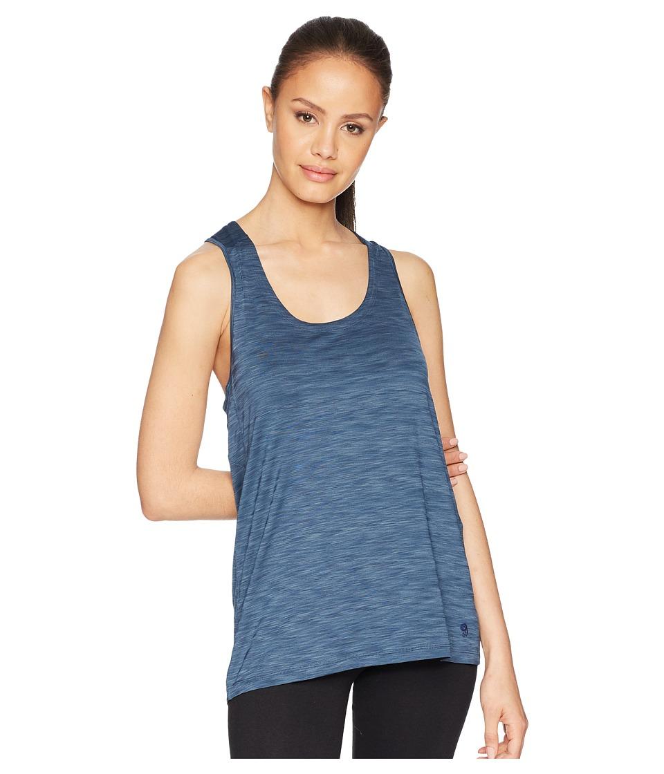 Mountain Hardwear - Mighty Stripe Tank Top (Zinc) Womens Sleeveless