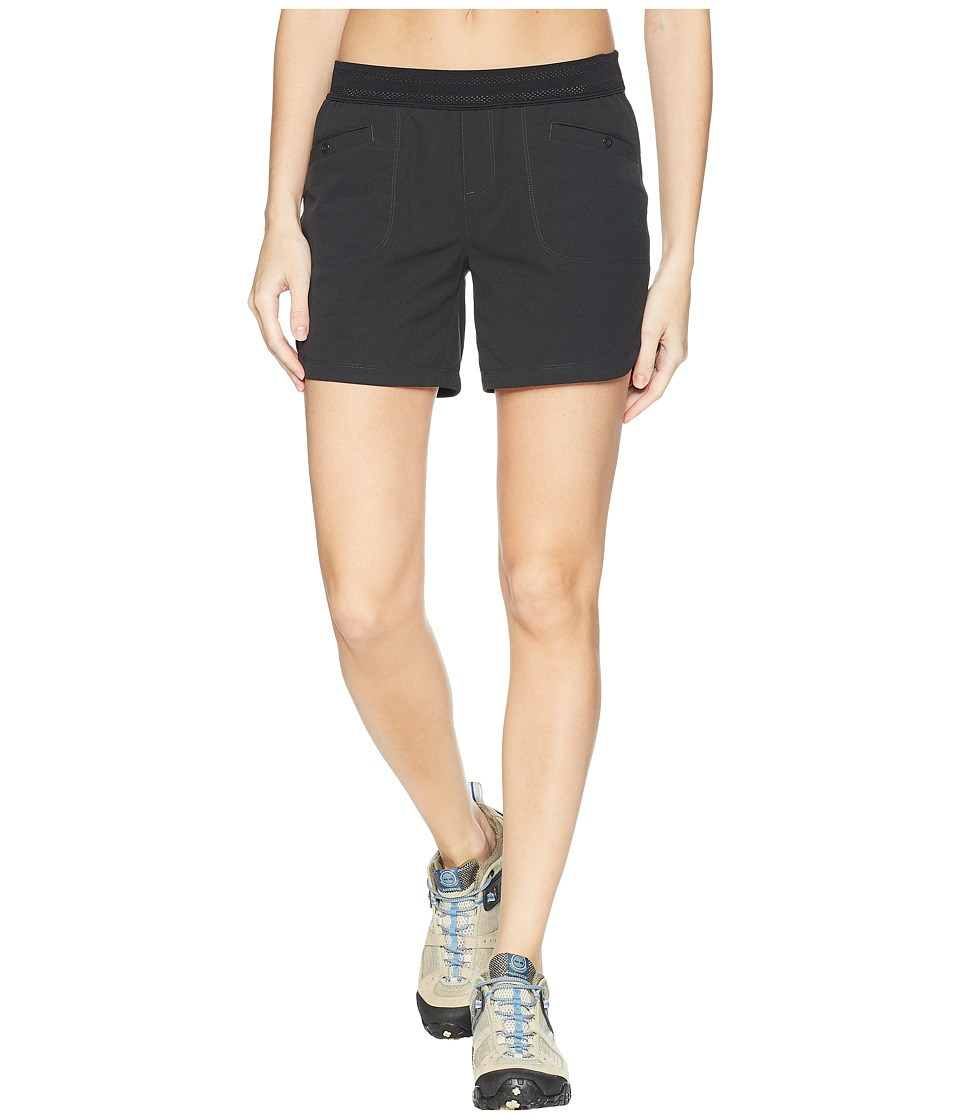 Mountain Hardwear - Right Bank Scrambler Shorts (Stealth Grey) Womens Shorts