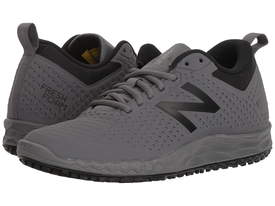 New Balance - 806v1 (Gray/Black) Mens Shoes